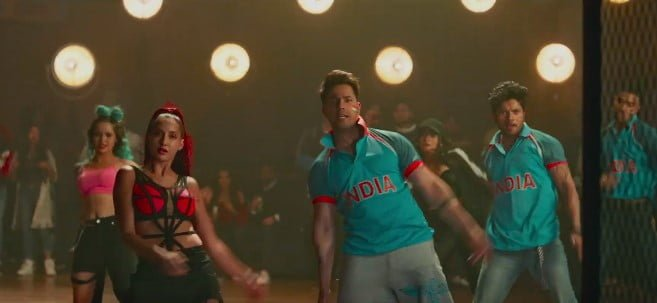 नच्ची नच्ची Nachi Nachi Song Lyrics Hindi - Street Dancer 3D