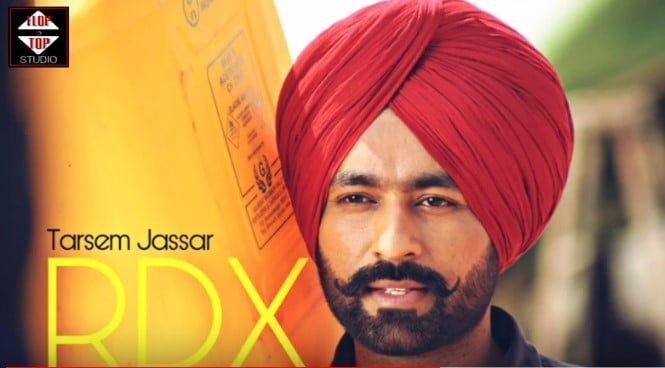 RDX Song Lyrics In Hindi - Tarsem Jassar
