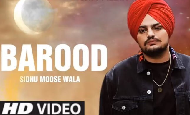 बारूद Barood Song Lyrics Hindi - Sidhu Moose Wala