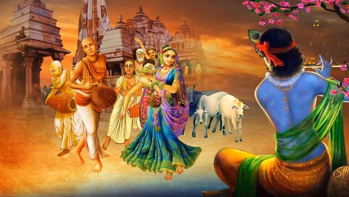 कृष्णा आरती Krishna Aarti Lyrics Hindi - Hariharan