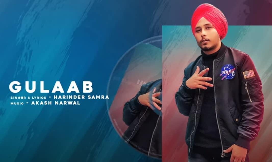 गुलाब Gulab Song Lyrics Hindi - Harinder Samra