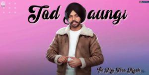 दिल तोड़ेया Dil Todeya Song Lyrics Hindi - Satbir Aujla