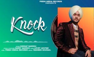 नॉक Knock Song Lyrics Hindi - Himmat Sandhu