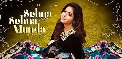 Sohna Sohna Munda Lyrics In Hindi (2020) - Miss Pooja