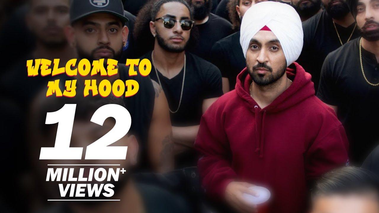 Welcome To My Hood Lyrics In Hindi (2020) - Diljit Dosanjh