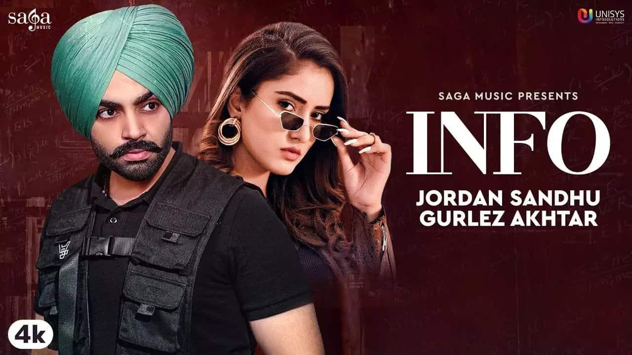 Info Lyrics In Hindi (2020) - Jordan Sandhu