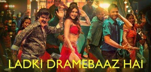 Ladki Dramebaaz Hai Lyrics In Hindi (2020) - Suraj Pe Mangal Bhari