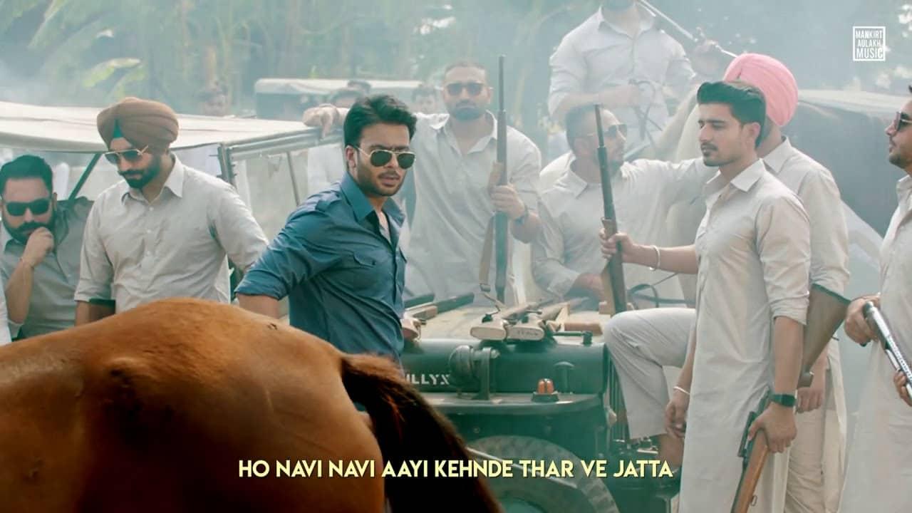 Mahindra Thar Lyrics In Hindi (2020) - Mankirt Aulakh