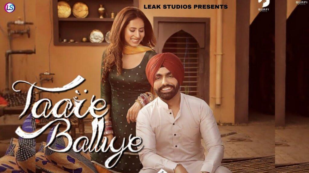 Taare Balliye Lyrics In Hindi (2020) - Ammy Virk