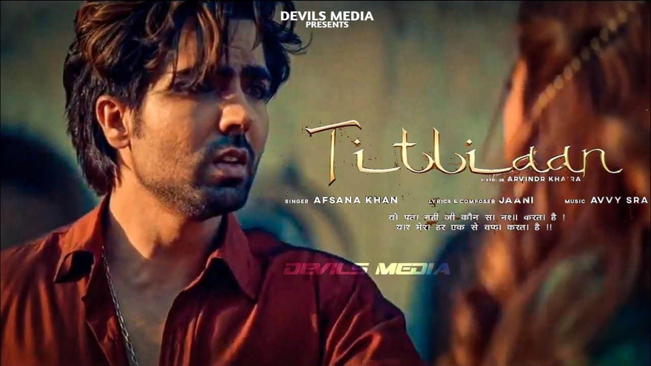Titliyan Lyrics In Hindi (2020) - Afsana Khan