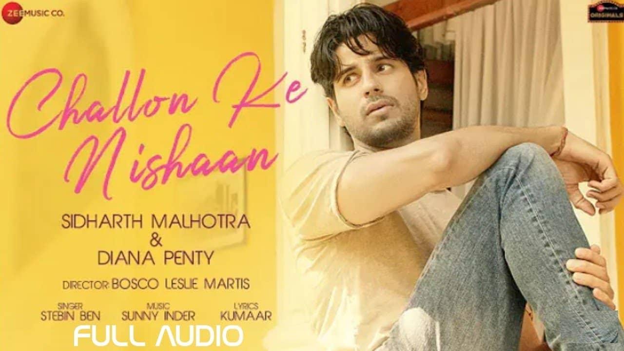 Challon Ke Nishaan Lyrics In Hindi (2020) - Stebin Ben