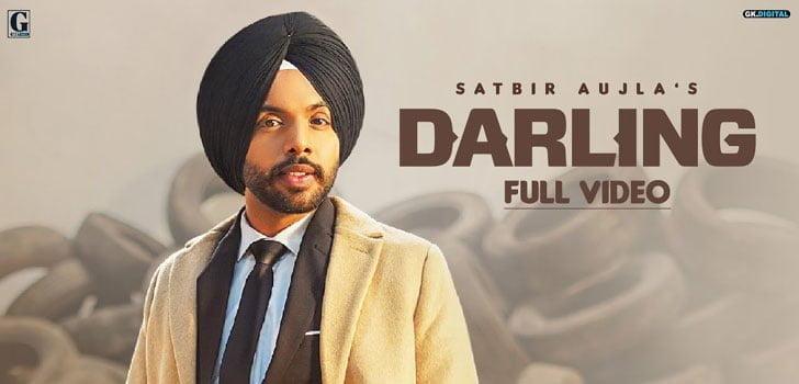 Darling Lyrics In Hindi (2020) - Satbir Aujla