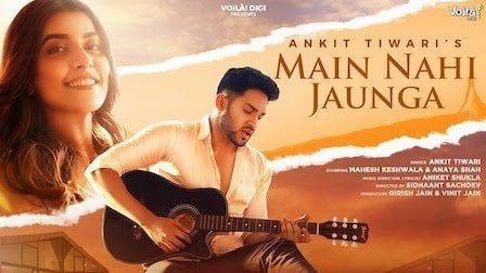 Main Nahi Jaunga Lyrics In Hindi (2020) - Ankit Tiwari