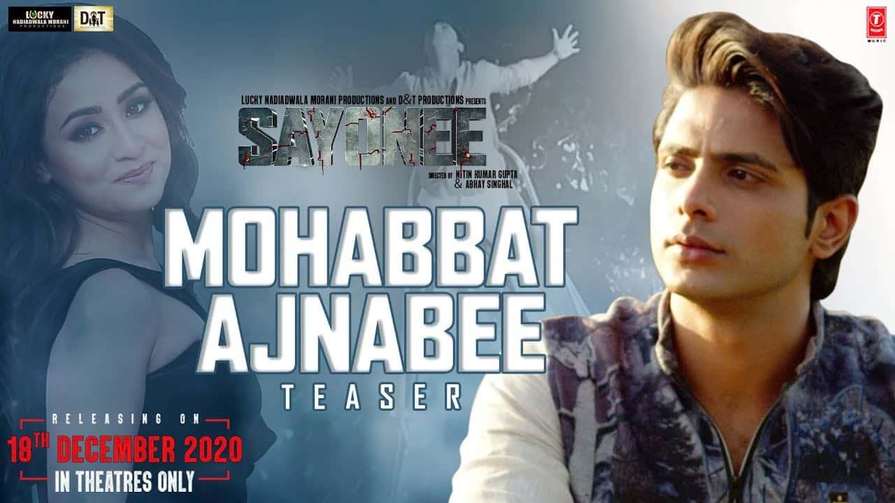 Mohabbat Ajnabee Lyrics In Hindi (2020) - Sachet Tandon & Sukriti Kakar