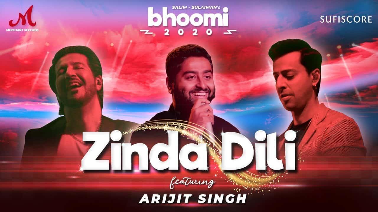 Zinda Dili Lyrics In Hindi (2020) - Arijit Singh