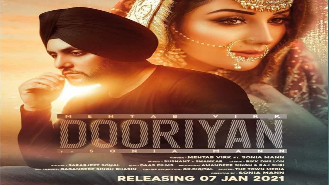 Dooriyan Lyrics In Hindi (2021) - Mehtab Virk