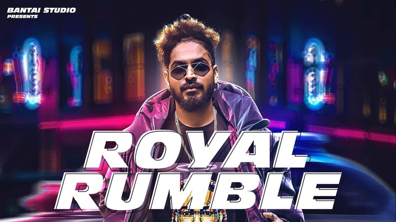 Royal Rumble Lyrics In Hindi (2021) - Emiway Bantai