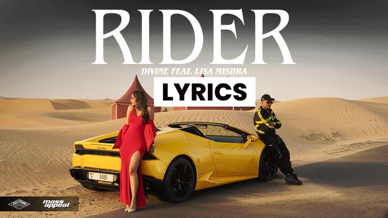 राइडर Rider Lyrics In Hindi (2021) - Divine